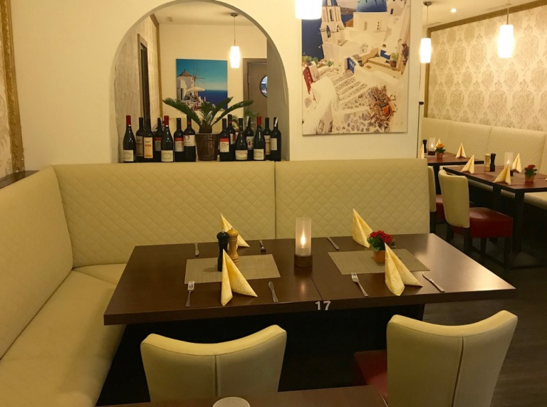 Restaurant Eisenach Santorini